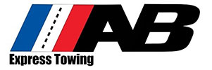 A&B Express Towing Logo